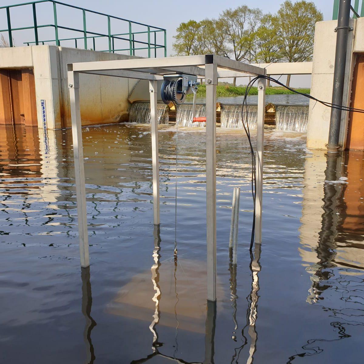 Onderzoek naar werking vispassage voor waterschap WDOD i.c.m. Arcadis